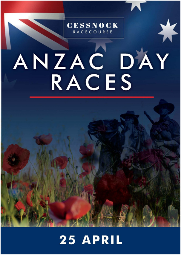 Anzac Day races in Newcastle Australia