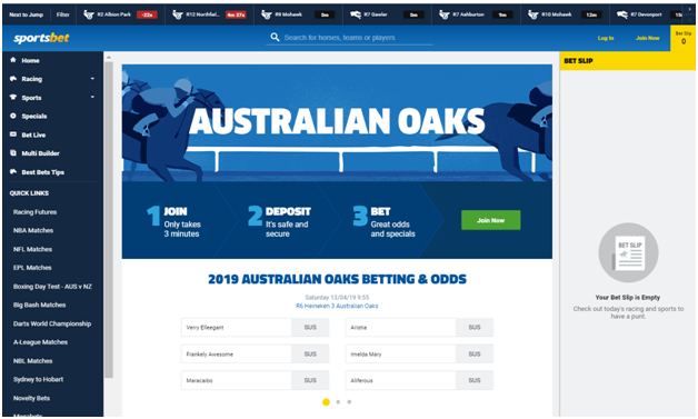 Sportsbet bookie