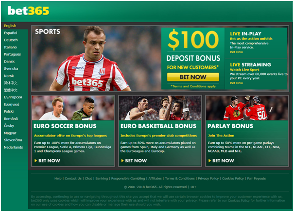 Bonus bet at bet365 AU