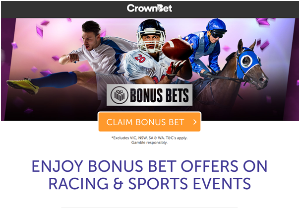 Crown Bet AU- Bonus bet
