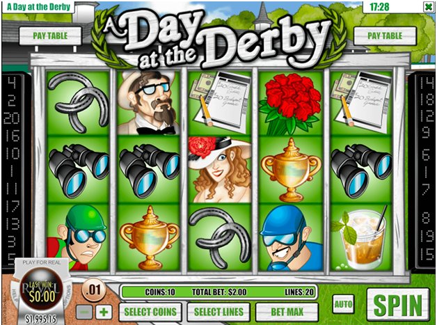 Day at the derby pokies