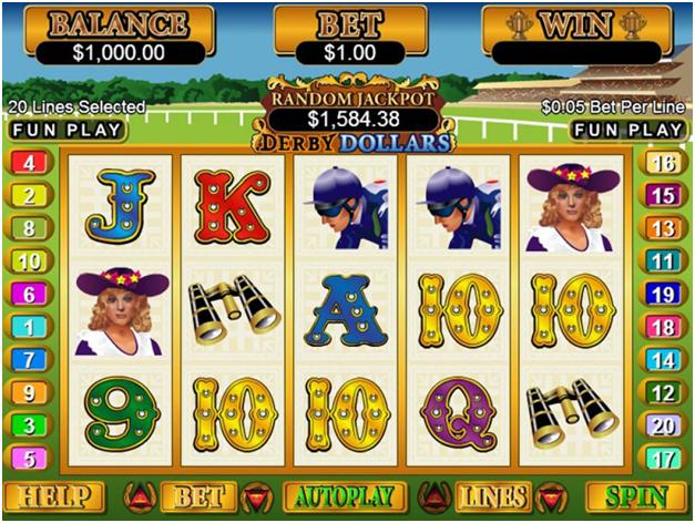 Derby Dollar slot
