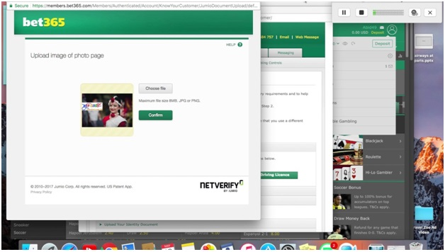 How to verify your account at online bookie for sports and races