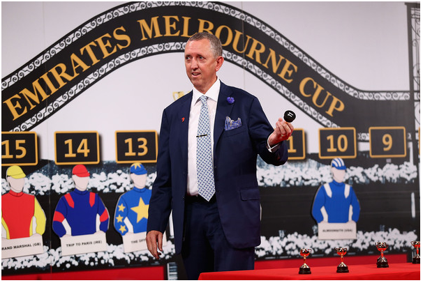 Melbourne cup barrier draw
