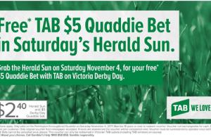 Quaddie bets Australia