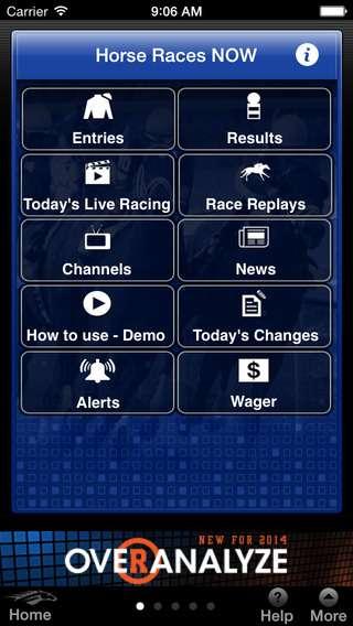 Racing app screen568x568