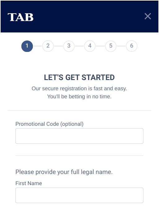 TAB Registration NZ