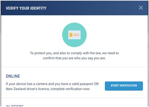 TAB verification online