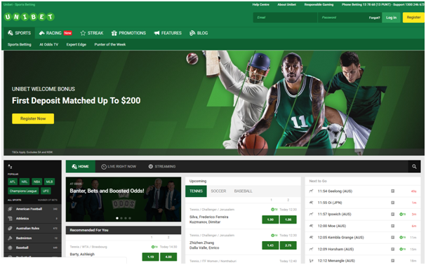 Unibet sports- Horse racing limits