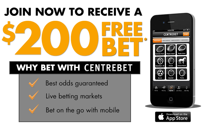 centrebet-iphone-200free